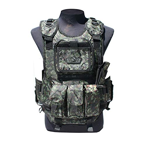 (GxG Deluxe Tactical Paintball Vests (Digi Green))