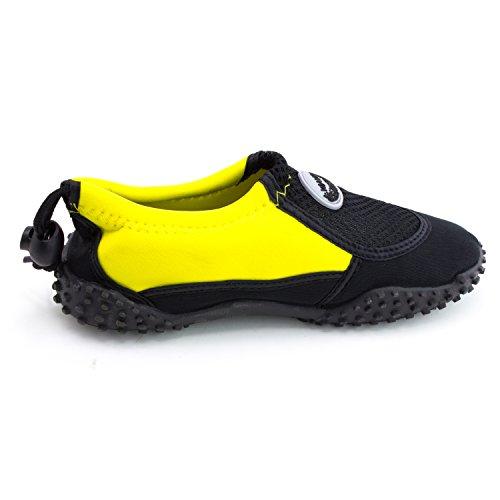 Piscina Para Mujer Al Aire Libre Pool Creek Aqua Water Zapatos (adultos) Amarillo