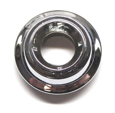 (The Parts Place GTO Lemans Remote Mirror Bezel Nut - Chrome)