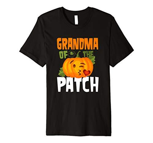 Grandmas Little Pumpkin - Pumpkin Grandma of the Patch T Shirt Cute Family Halloween