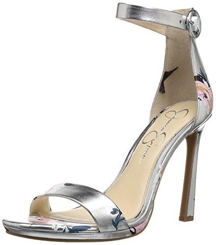Jessica Simpson Women's Plemy Heeled Sandal Platinum cheap wholesale clearance newest a1FWiVmU