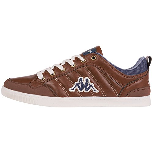 Sneakers Kappa Basses Marron 5067 Brown 241914 homme Navy 7P1OqwFP
