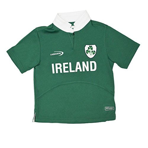 and Shamrock Performance Short Sleeve Kids Rugby Shirt (5/6 Years) ()