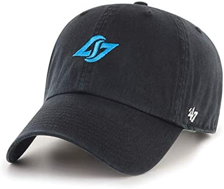 One Size Team Color 47 Esports Counter Logic Gaming Mens Esports Clean Up Adjustable Hat with Side EmbroideryEsports Clean Up Adjustable Hat with Side Embroidery