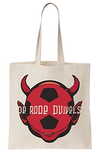 Bag Flag Devils Red Go National Tote Team Belgium Ball Colors Canvas Football Let's 7qrxBRta7w