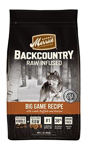 Merrick Backcountry Big Game Dry Dog Food, 22 Lbs. ()