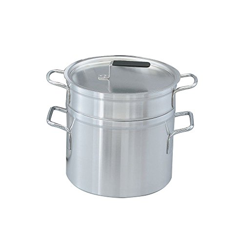 Vollrath Wear-Ever Double Boiler with Inset and Lid (10-Quart/8.5-Quart)