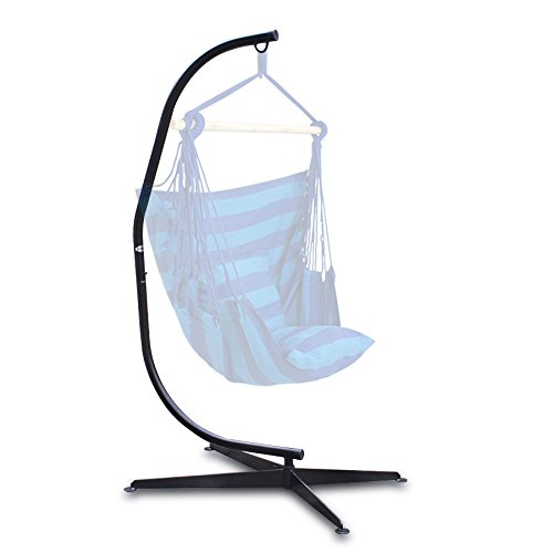 Super Deal C Hammock Frame Stand Solid Steel Construction Hammock Air Porch Swing Chair (stand)