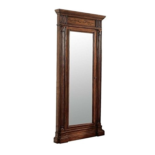 Hooker Furniture Seven Seas Jewelry Armoire with Mirror in (Cedar Cherry Armoire)