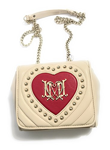 Love Moschino Borsa Avorio/Rosso