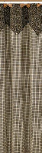 Park Designs Cider Mill Shower Curtain, 72 x 72 ()
