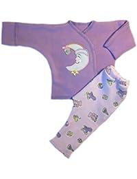 Preemie Clothing Sets-Jacqui's Baby Girls' Smiling Moon 2 Piece Clothing Set