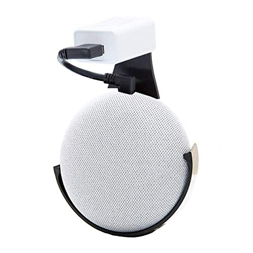 Home Outlet Wall Mount Holder for Bose, Anker, Home Mini Round Speakers Accessories