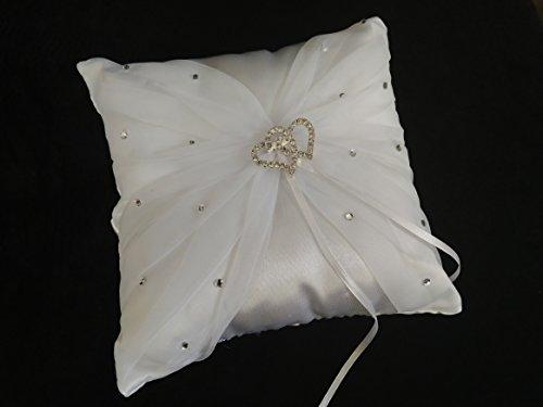 Amazon.com: Nuestra Boda/Our Wedding Cojin para Anillos de ...