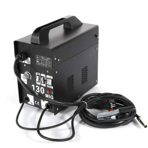 BTdahong MIG-130 Poste /à souder 230 V pour /électrodes et soudeuse /à fil de remplissage Plage de travail 55-120 A