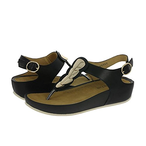 Heavenly Feet Suave Sandalias Negro Negro