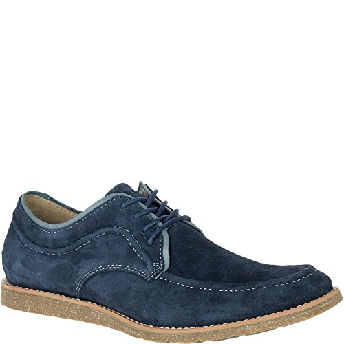 (Hush Puppies Men's Hade Jester Oxford, Navy Suede, 7 M US)