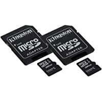 Samsung SM-T550 Tablet Memory Card 2 x 32GB microSDHC Memory Card with SD Adapter (2 Pack)
