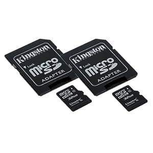 Samsung NX3000 Digital Camera Memory Card 2 x 32GB microSDHC Memory Card with SD Adapter (2 Pack)