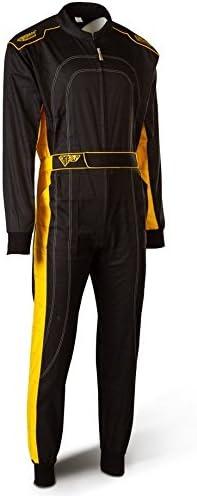 SPEED Kartoverall HS-2 2018 Racewear Combinaison Noir//Jaune