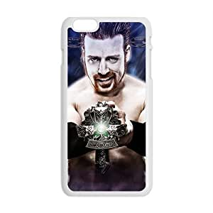 Happy WWE World Wrestling White Phone Case for iphone 4/4s