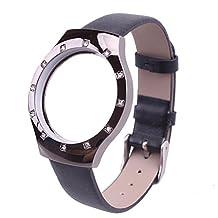 Hunputa Diamond Leather Watch Band Strap For Misfit Shine Bracelet Smart WristBand