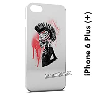 Carcasa Funda iPhone 6 Plus (iPhone 6+) Punk is dark Protectora Case Cover