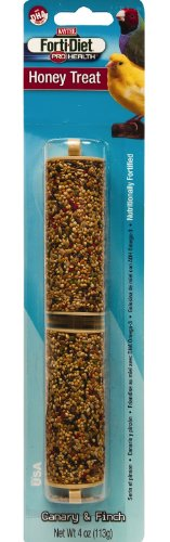 Kaytee Pet Products BKT100503024 Forti-Diet Pro Health Honey Canary and Finch Treat Stick, 4-Ounce, My Pet Supplies