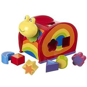 Orange Tree Toys : forma de clasificar los juguetes de madera : caracol
