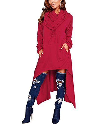 hooded dress coat - 6