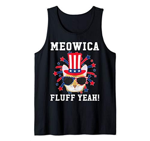 Meowica Fluff Yeah - Bengal Cat Tank Top
