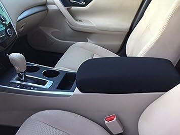 Custom Fit Nissan Altima 2013-2014 Neoprene Center Armrest Console Lid Cover F4N