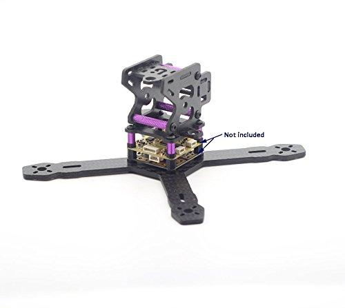 Usmile 150mm 3mm X style Carbon Fiber Quadcopter Frame Kit Mini quad fpv quad quadcopter suit for 1306 1104 brushless motor 4″ props HS117 RunCam Swift