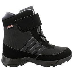 Adidas Outdoor 2015 Kid\'s CH AdiSnow CF CP Winter Sport Boots - B33214 (Black/Dark Grey/Night Met - 13.5K) Size 13.5 Little Kid M
