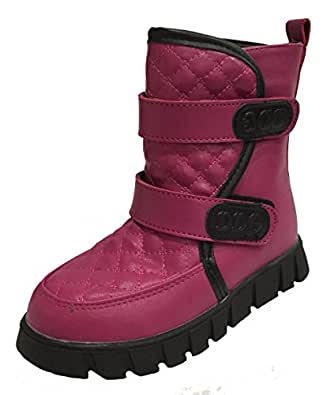 Amazon.com | Toddler Kids Snow Boot with Suede Lining