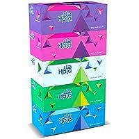 Sanita Hala Facial Tissue 2Ply 200 Sheets 5 Boxes