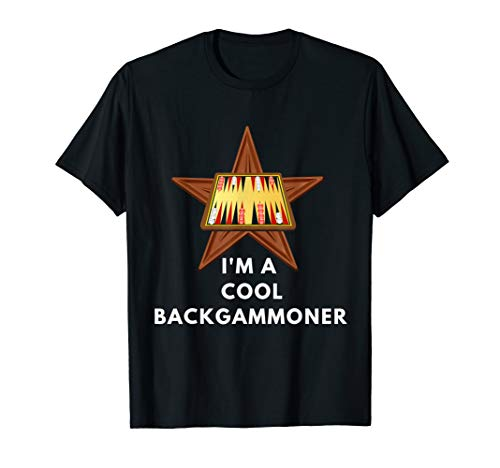 Best Ever BACKGAMMONER Funny Backgammon Player Cool T Shirt -