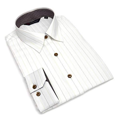 ウォーターフロントペリスコープわずかなブリックハウス シャツ ブラウス 長袖 形態安定 レギュラー衿 レディース ウィメンズ BL018507AB14R10-63