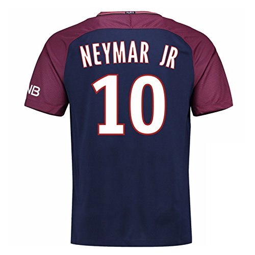 2017-18 Psg Home Shirt Kids (Neymar Jr 10) B077VKS6RM XLB 32-35