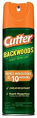 Cutter Backwoods Insect Repellent 25-Percent DEET Aerosol Spray