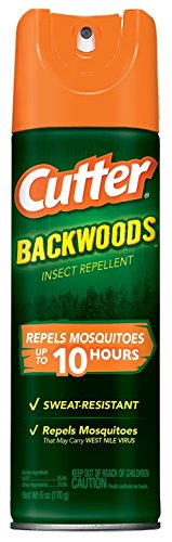 Cutter Backwoods Insect Repellent 25-Percent DEET Aerosol Spray