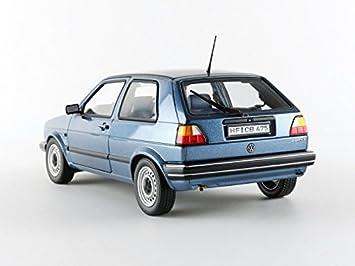 Norev - 188416 - Volkswagen Golf II Cl - 1984 - Escala 1/18 - Azul: Amazon.es: Juguetes y juegos