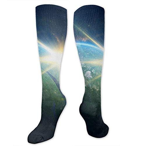 Stretch Socks The Strange Light of Outer Space Personalized Winter Warmth for Women & Men Athletic Sports