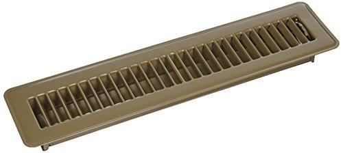 Mintcraft Air - MINTCRAFT FR01-2X14B Floor Register Brown 2.75 X14