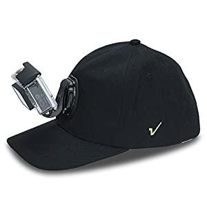 Review XP Baseball Hat with Quick Release Buckle Mount Adjustable Cap Black, Compatible with Most Action Cameras, GoPro Hero Session 5,4,3+,3,2,1, Yi, Yi 4K