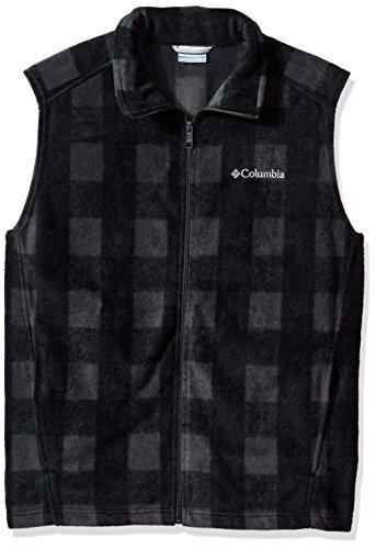 - Columbia Men's Cascades Explorer Full Zip Fleece Jacket, Shark Plaid, X-Large