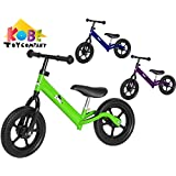 Kobe Aluminum Balance Bike-Lightest Pre-Bicycle on The Market-Ages 18 Months-5 Years-Green