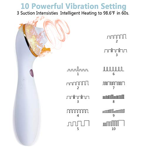 Clit Sucking Vibrator Dildo Sex Toy Personal Clitoral Stimulator G Spot with Suction & Vibration Orgasm for Women  by FClub-Toy (Image #1)