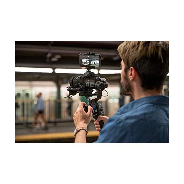 DJI Ronin-SC Pro Combo Gimbal Kit con Stabilizzatore Professionale Portatile a 3 Assi, Cavi di Controllo, Supporto, per Fotocamera Mirrorless, Compatibile con Nikon, Canon, Panasonic, Fujifilm 7 spesavip