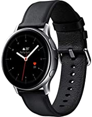 Samsung Galaxy Watch Active 2 , 44 mm Stainless Steel, Silver - SM-R820NSSAKSA
